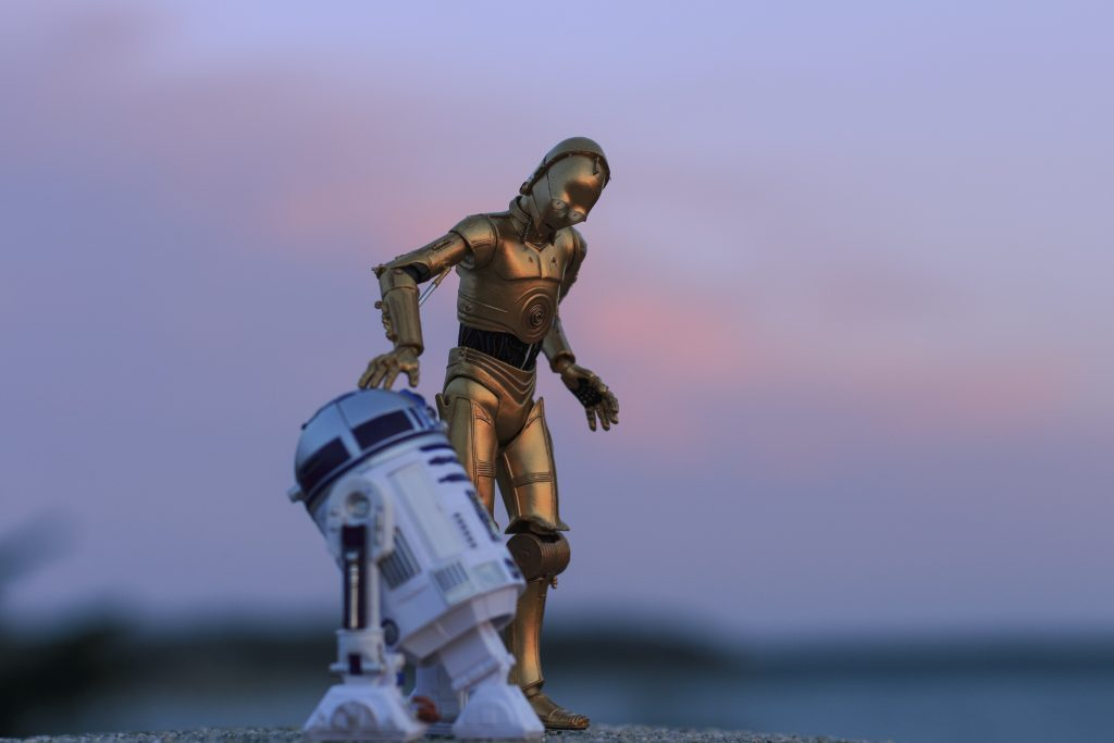 these are the droids...