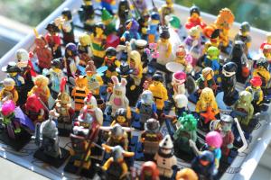 when mini figures congregate